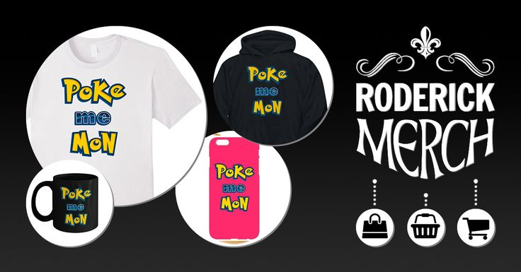 Poke Me Mon 01. If you are a fan of the game, why not grab this stylishly discreet design today. Go on and pick one in your favourite colour now, with matching gear. #Game #Pokemon #TShirt