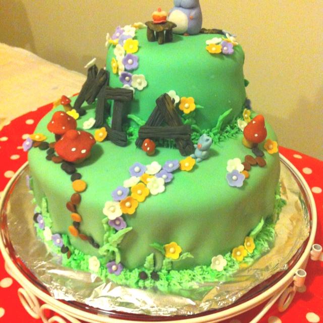 Mia first cake