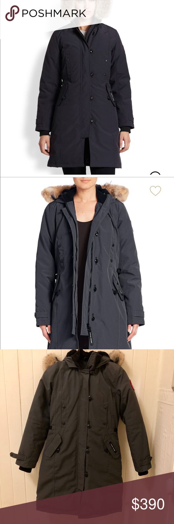 Canada Goose Parka Brand New W/O Tags  Canada Goose Kensington Fur-Trimmed Parka Retail Price: $895+Tax  I love this jacket, but I bought it for a trip and do not need it for California weather Canada Goose Jackets & Coats Puffers