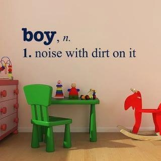 Fact.: Vinyls Decals, Idea, My Boys, Wall Decals, Baby Boys, So True, Playrooms, Little Boys Rooms, Kids