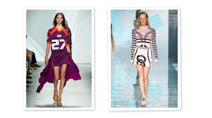 Desde las pasarelas hasta el street style, esta tendencia se ha convertido en el estilo de la temporada. Camisetas tipo jerseys de fútbol americano, faldas