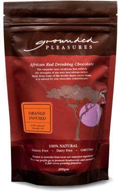 Grounded Pleasures Orange Infused Drinking Chocolate 200gm