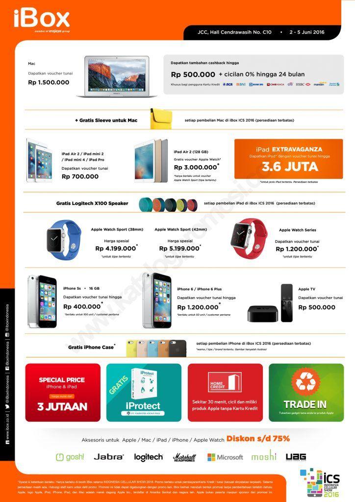 PROMO Produk Apple di ICS 2016
