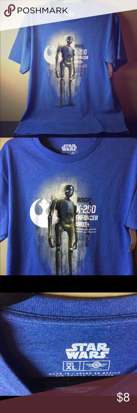 Star Wars Rogue T-Shirt NWT Star Wars Rogue Movie T-Shirt. Tops Tees - Short Sleeve