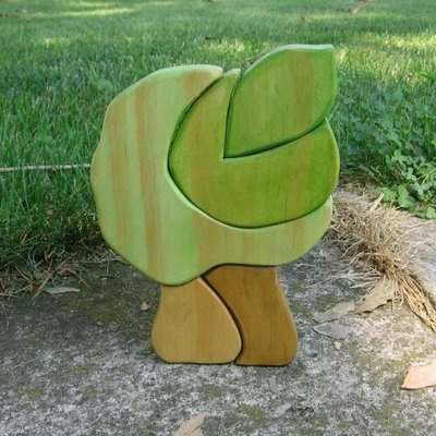 maak je eigen houten speelgoed boom
