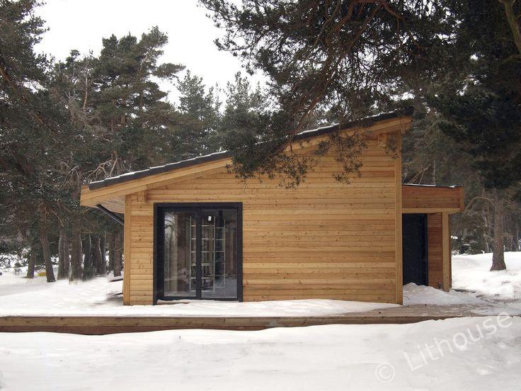 Les 25 meilleures id es de la cat gorie maison pr fabriqu e sur pinterest m - Maison prefabriquee bois ...