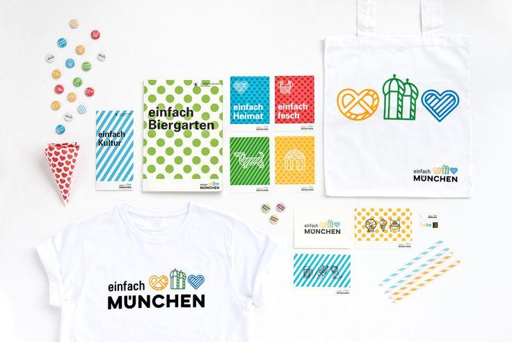 LANDESHAUPTSTADT MÜNCHEN / Neues Erscheinungsbild für München Tourismus / #einfach #München #Kultur #Genuss / by Zeichen & Wunder, München