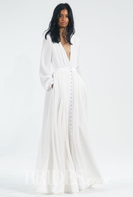 Houghton Wedding Dresses - Fall 2015 - Bridal Runway Shows - Brides.com