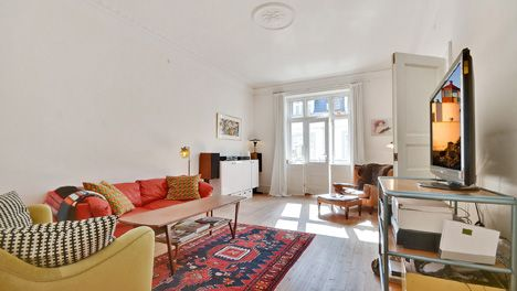 Large Copenhagen apartment with balcony at Westend | All-copenhagen-apartments.com