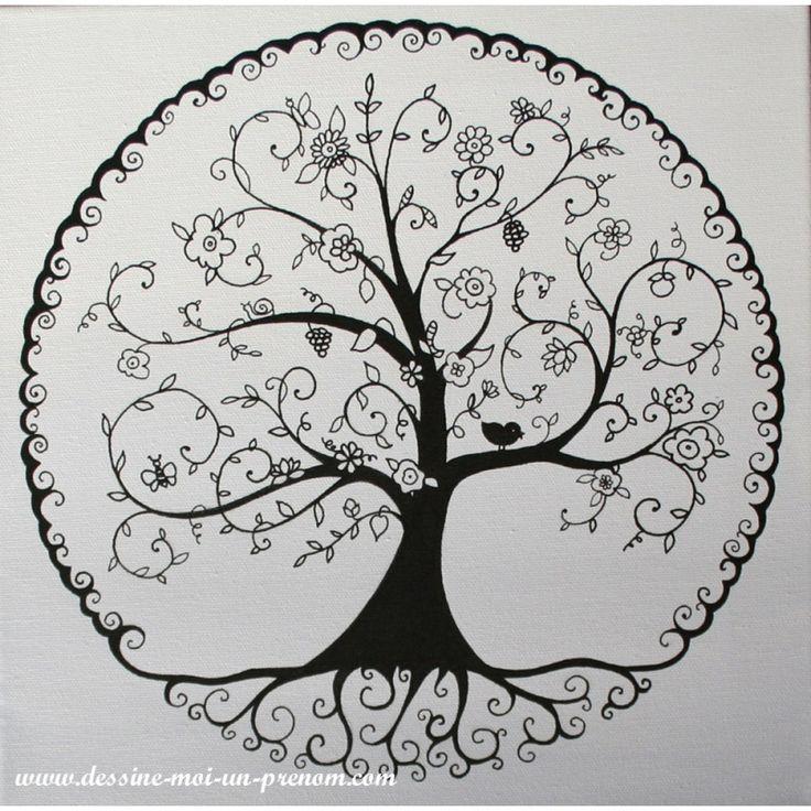 L'arbre d'hiver - Dessine Moi Un Prénom