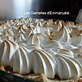 Ma tarte au citron meringuée - Les gamelles d'Emmanuèle