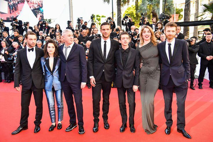 la montée des marches , Cannes , pour 120 battements par minute