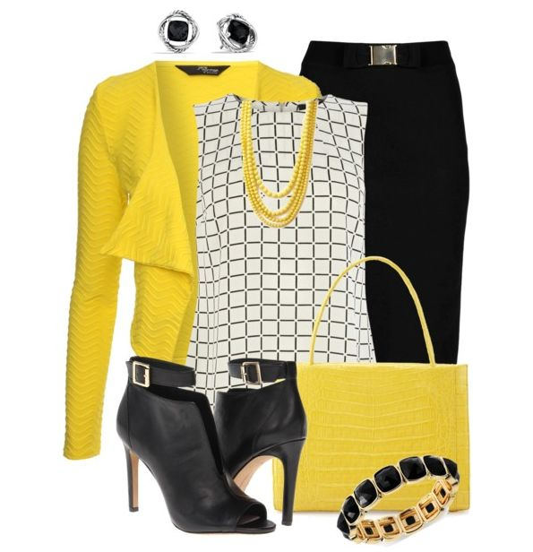 Top 25 Ideas About Yellow Blazer Outfits On Pinterest