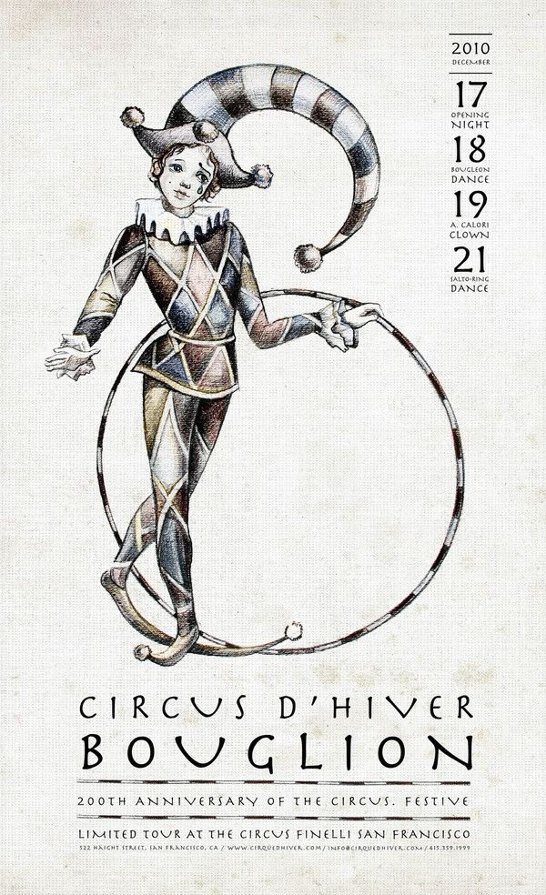 poster for cirque d'hiver 2010