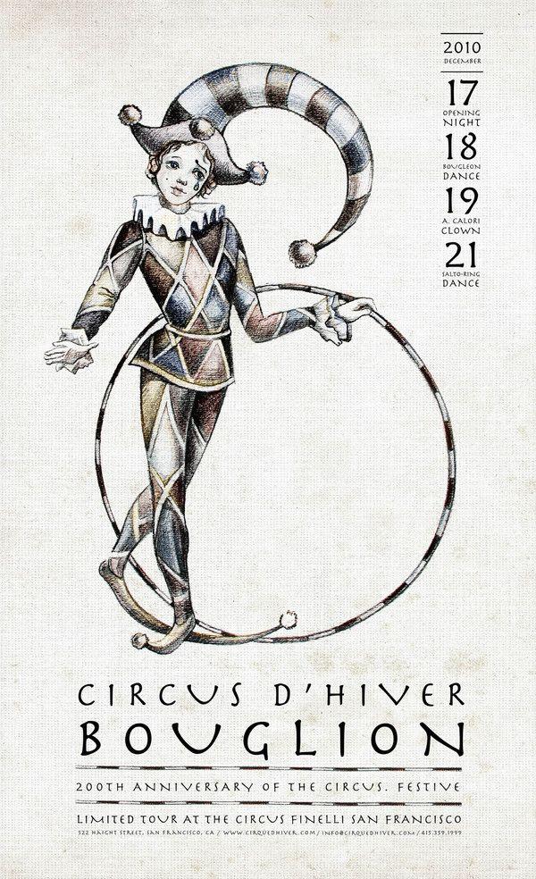 CIRCUS D'HIVER POSTER & BROCHURE