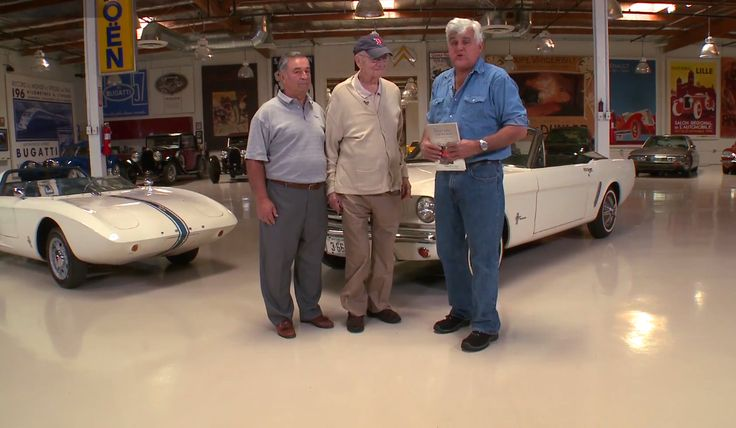 Watch the 2015 Ford Mustang and Lee Iacocca drop by Jay Leno's Garage