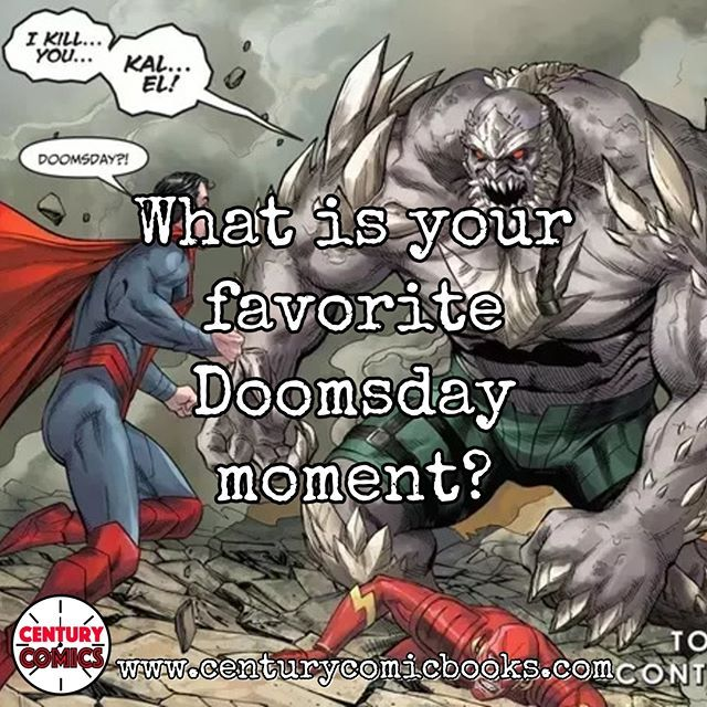 What Is Your Favorite Doomsday Moment Doomsday Dc Dccomics