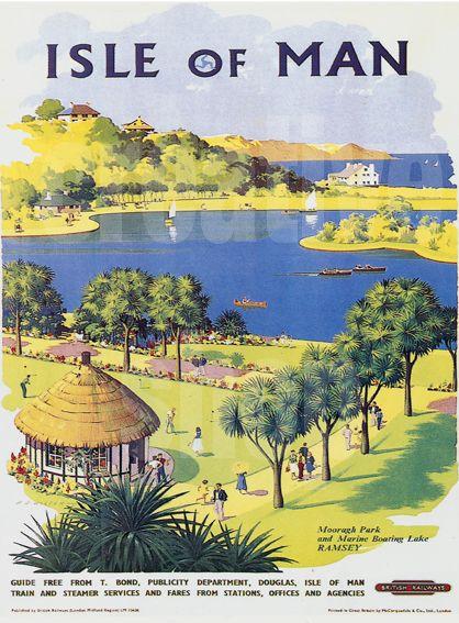 Vintage Isle Of Man 116