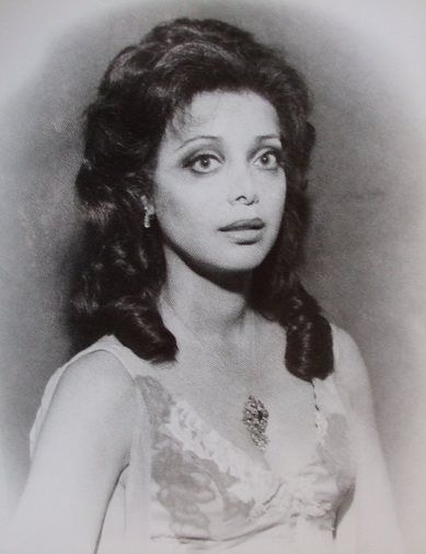 Ellen Holly, the first African American to star in a daytime series(One LIfe to Live, 1968).Carla.