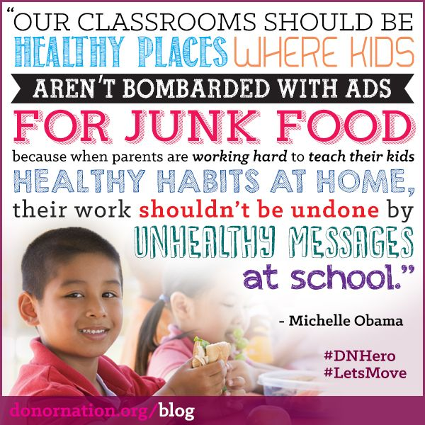michelle obama quotes childhood obesity