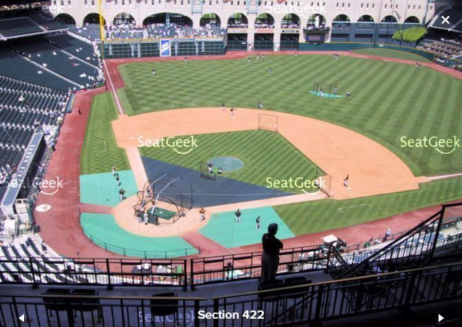 #tickets 2-8 Houston Astros 2017 ALDS Home Playoff Game 1 Tickets Section 422 Row 6 please retweet