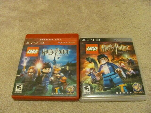 Lego Harry Potter Years 1 4 And 5 7 Both Games Ps3 Playstation 3 Complete Ps4 Gaming Video Harry Potter Years Lego Harry Potter Super Hero Games