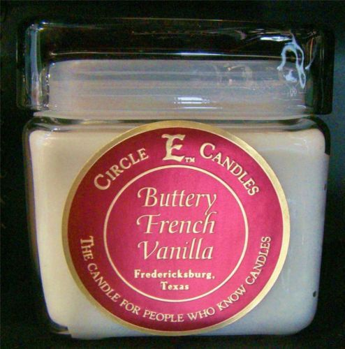 New Circle E Candle Buttery French Vanilla 28 oz Jar 165 Hours Burn Time | eBay