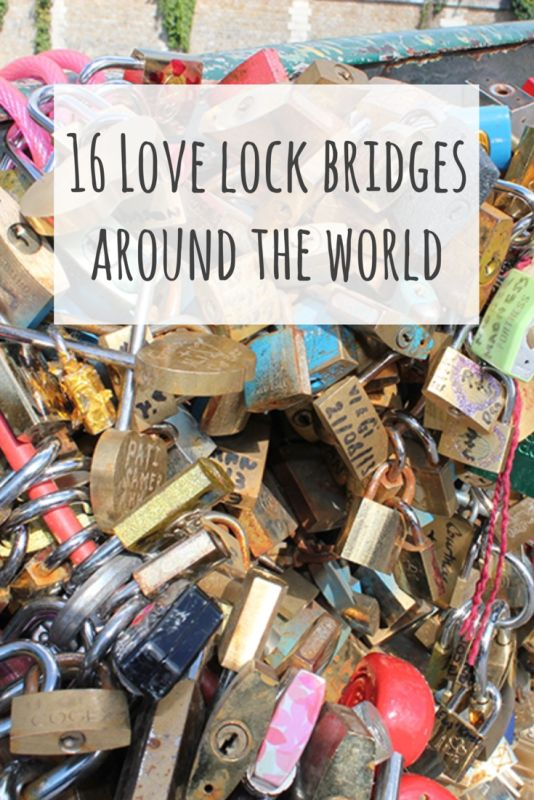 love lock bridges