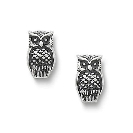 Owl ear posts (for Mari) $65 | James Avery