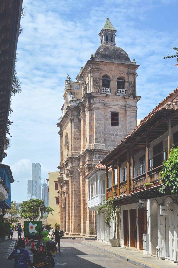 Iglesia de San Pedro Claver in Cartagena, Colombia | heneedsfood.com