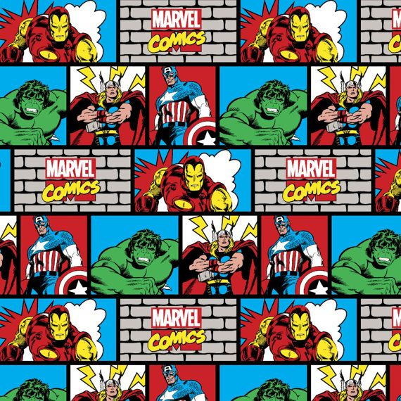 **This comic book knit features Marvels Avengers and is cut fresh from the bolt** Want more than what seems to be available, please message me.  96% Cotton 4% Spandex 32s+30d, 58/59in 200 gsm, 4 Way Stretch Manufacturer: Springs Creative Designer: Licensed Product Collection: Marvel Material: 96% Cotton,4% Spandex WoF: 58/59 inches   Want more than what is offered? Send me a message.  cotton spandex jersey 4way stretch knit lycra The avengers marvel captain america thor iron man the…