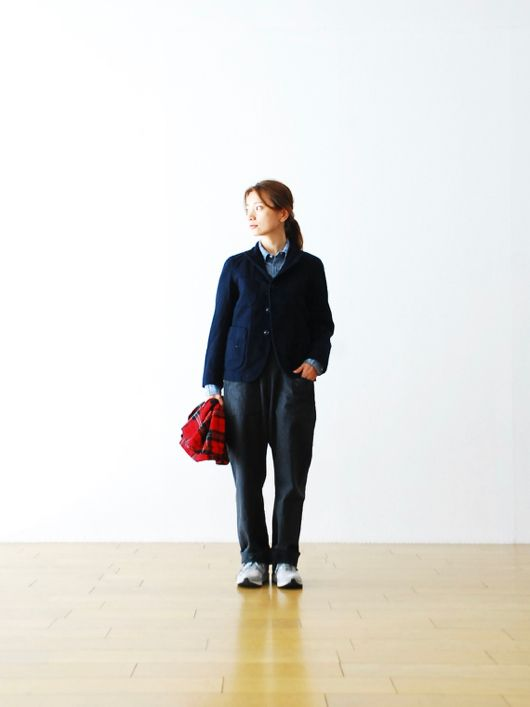 "[ladie's]FWK by Engineered Garments(エフダブリューケイ バイ エンジニアードガーメンツ) ""Bedford Jacket - 20oz Melton"""