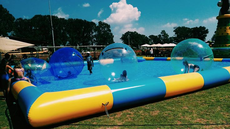 Fun under the sun  at Gog lifestyle park.
