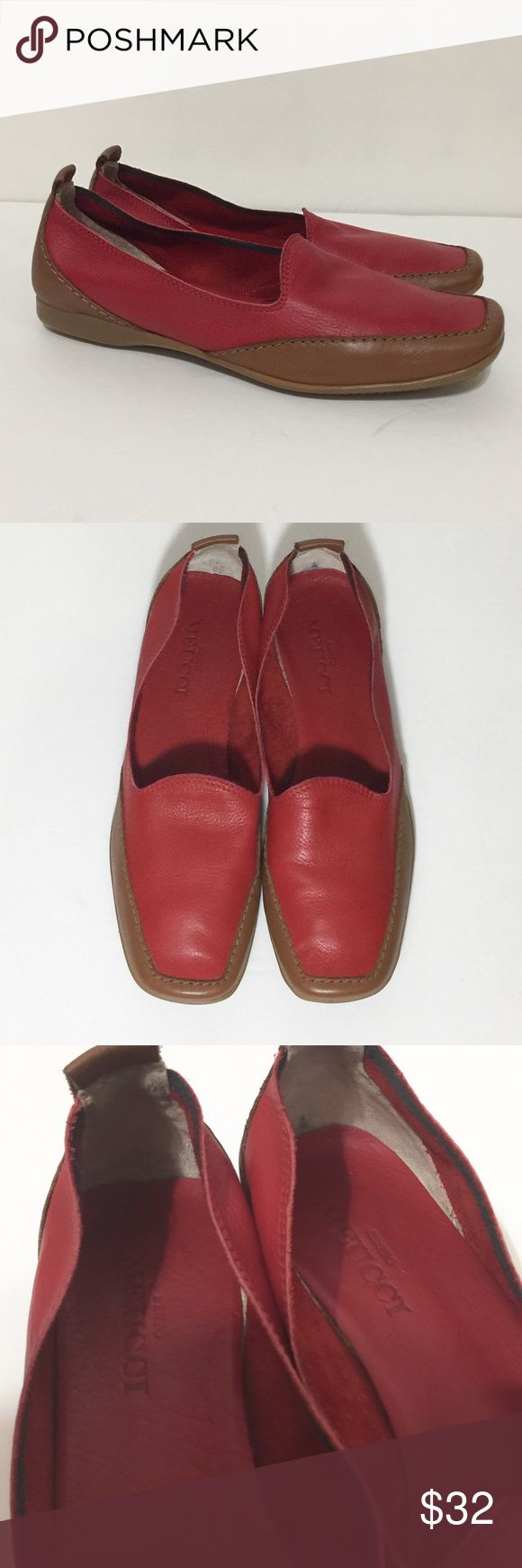 MEUCCI DRIVING LOAFERS Lightly worn. These are 7.5 narrow. sergio meucci Shoes Flats & Loafers