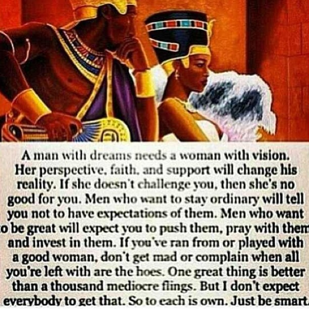 "Women Better Than Men Quotes: ""A Man With Dreams Needs A Woman With Vision. ...One Great"
