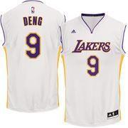 #NBAStore.com - #NBAStore.com Men's Los Angeles Lakers Luol Deng adidas White Alternate Replica Jersey - AdoreWe.com