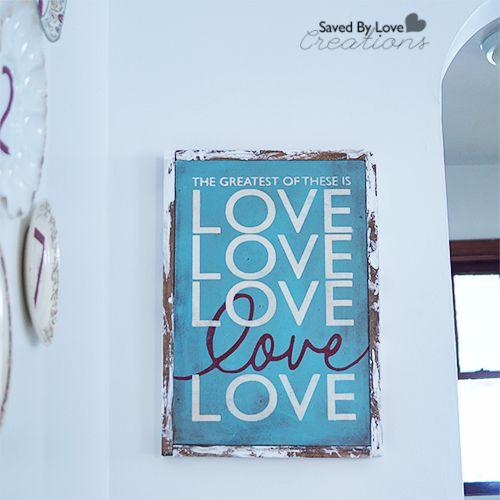 Corinthians Love Verse Sign DIY