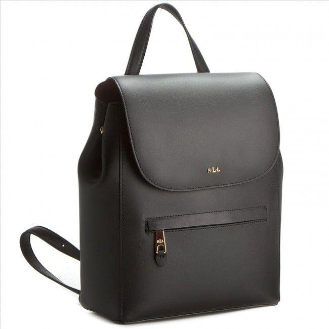 Plecak LAUREN RALPH LAUREN - Ellen Backpack N91 XZ0BI XY0BI XW0DF Black/Crimson