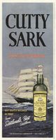 Cutty Sark Scotch Whisky 1960 Ad Picture