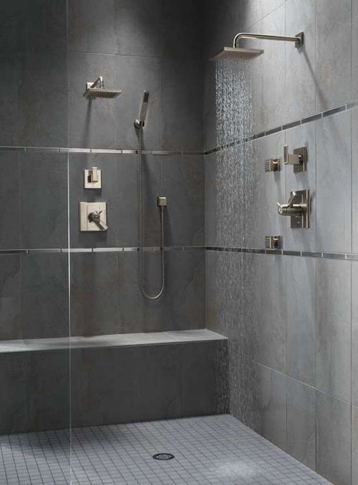 Best 20 Slate Tile Bathrooms Ideas On Pinterest Tile