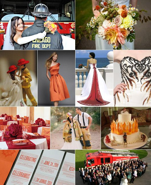 Firefighter Wedding Themes Ideas: Temabröllop Brandkår / Theme: Fireman, Firefighter