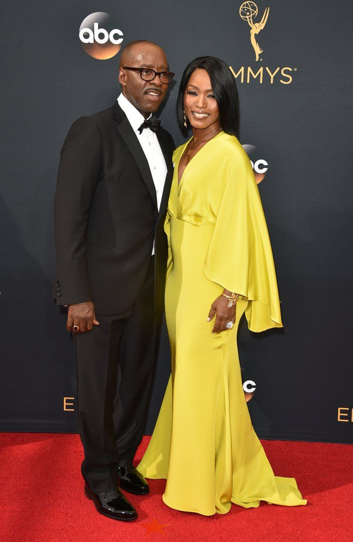 Hollywood Couples Raked In Some Cute Moments at the Emmys Angela Bassett and Courtney B. Vance