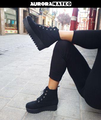 #bambas #plataforma #botin #otoño2014 #moda #auroramateo