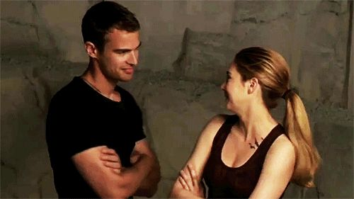 <b> Even though we want Theo to ourselves, we kind of hope Shailene and Theo get together: </b>
