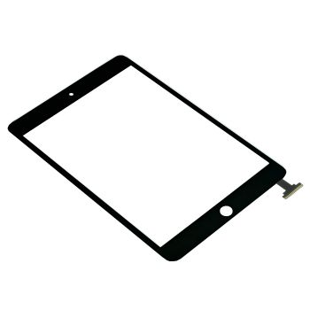 iPad Mini Digitizer Touchscreen Assembly + IC Connector ( Full Original )  Kit Includes: •1 iPad Mini Digitizer Touchscreen Assembly + IC Connector ( Full Original ) •1 iPad Mini Home button + Flex •1 iPad Mini Adhesive