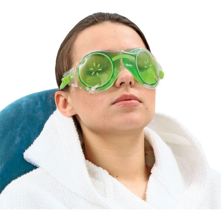 Гелевая маска для глаз Огурчики предназначена для снятия усталости, спазмов и покраснения глаз. При регулярном использовании маска способств...