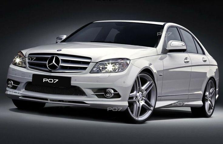 Mercedes-Benz C-Klasse W204 FRONTSTANGE HECKSTOßSTANGE AMG LOOK BODYKIT