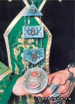 Kazakh national jewelry