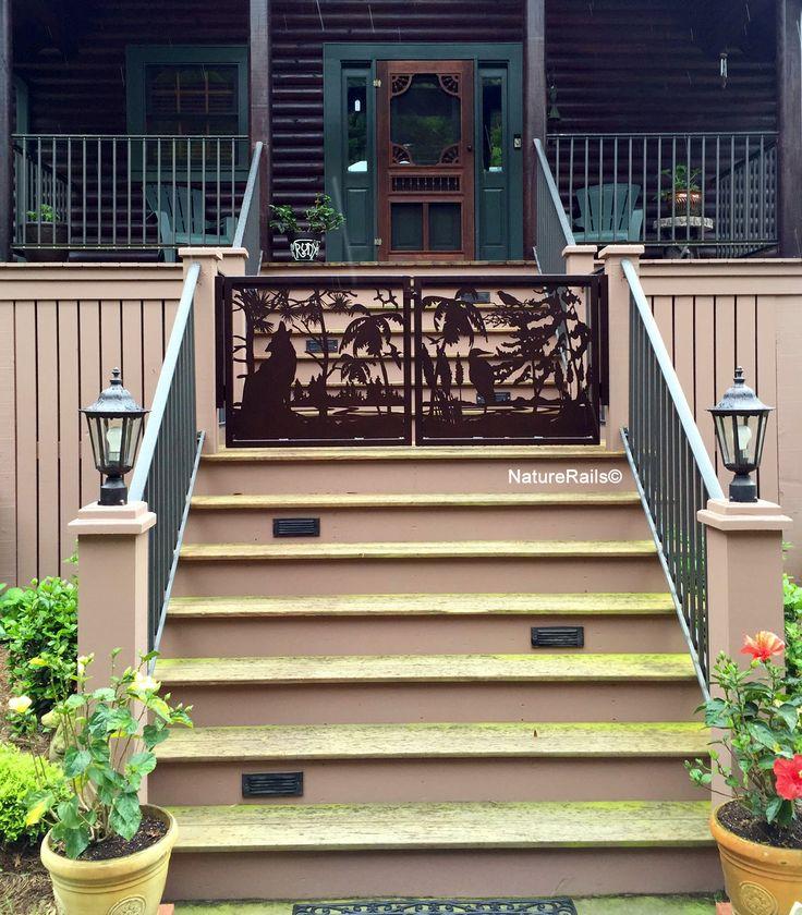 Best deck railing metal images on pinterest