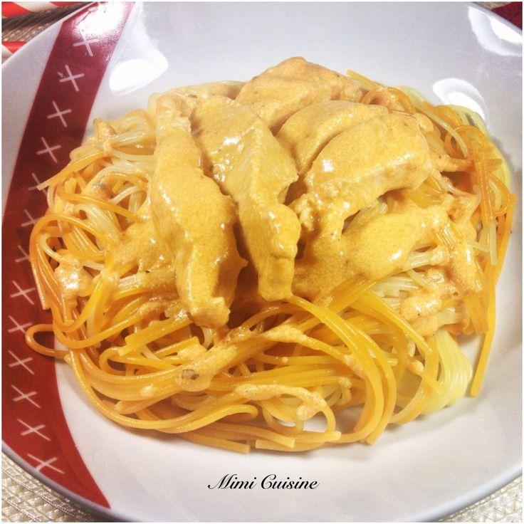 Poulet sauce Mascarpone tomate Recette Companion